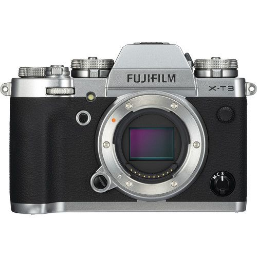 Fujifilm X-T3 Mirrorless Digital Camera Body Only (Silver)