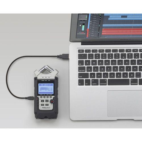 Gravador Zoom H4N Pro de Voz