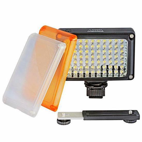 Iluminador LED Yongnuo YN0906 II com 70 Leds