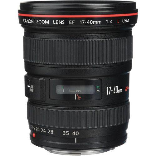 Lente Canon Ef 17-40MM F/4L Usm