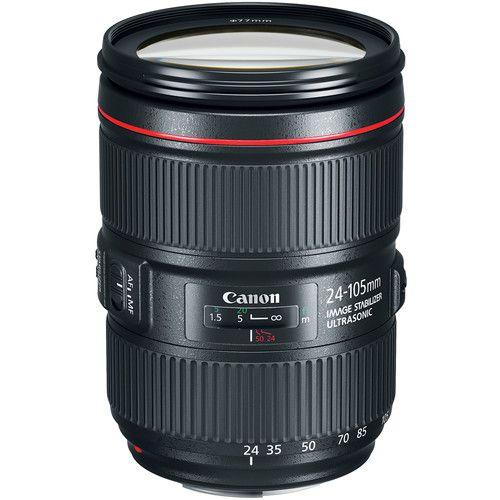 Lente Canon EF 24-105mm f/4L IS II USM