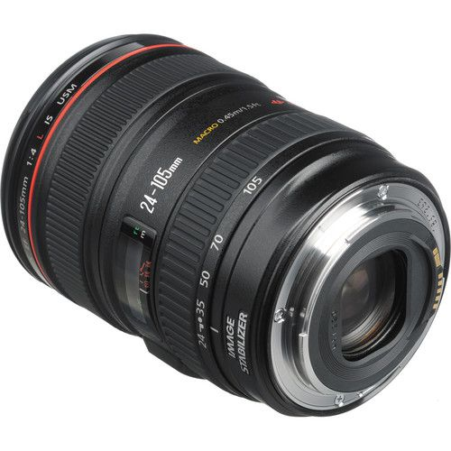 Lente Canon EF 24-105MM F/4L IS USM