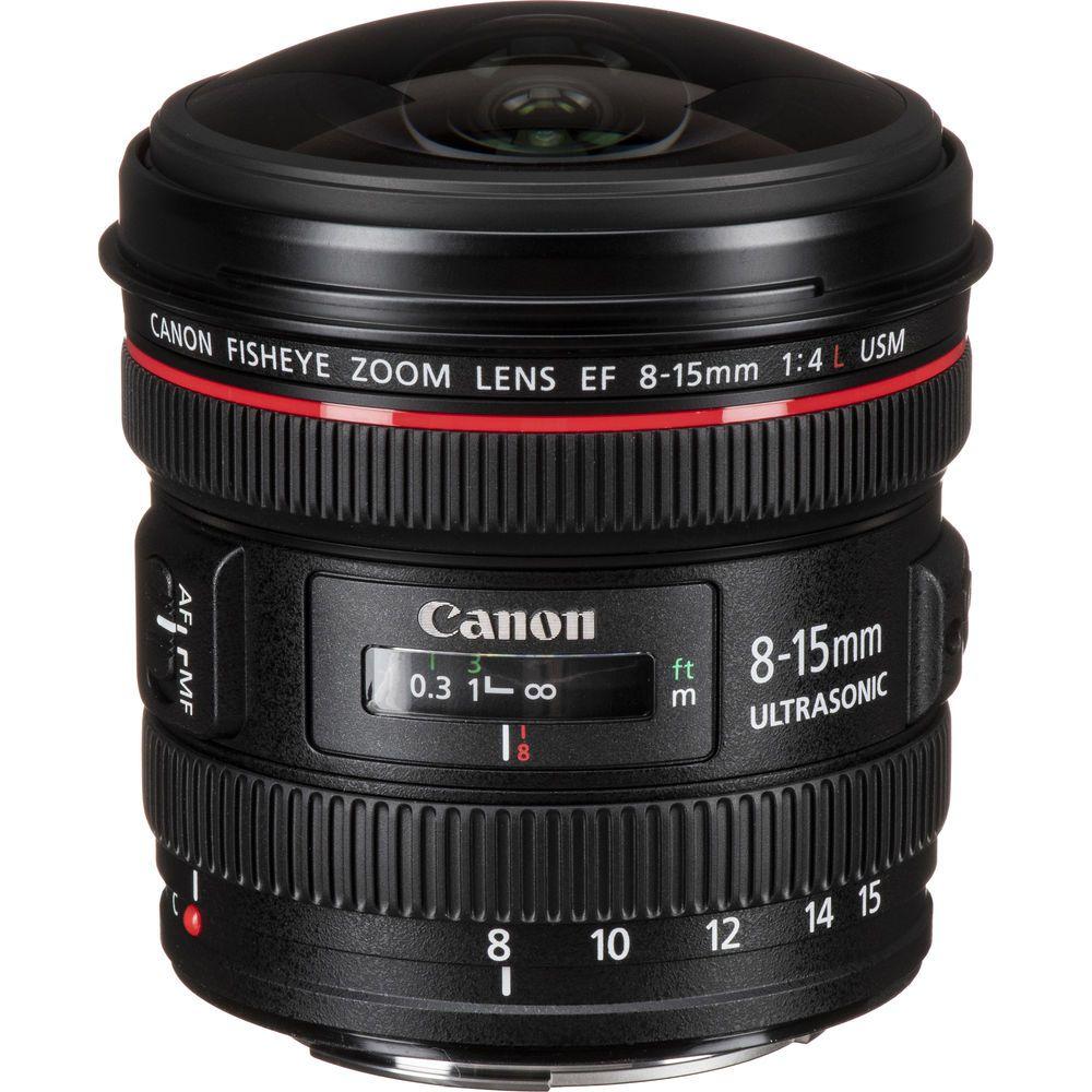 Lente Canon Ef 8-15 F4L Usm Fisheye