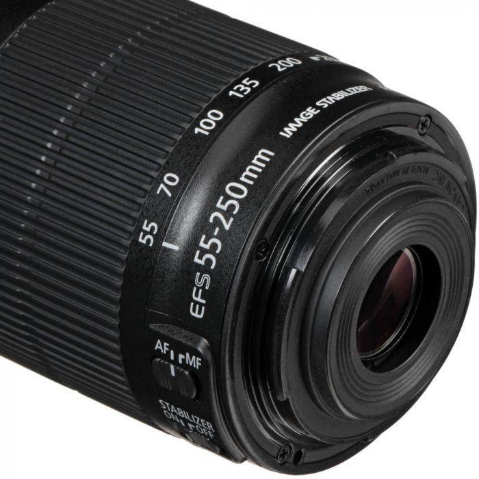 Lente Canon EF-S 55-250mm F/4-5.6 IS STM