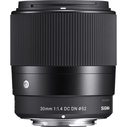 Lente Contemporânea Sigma 30mm f / 1.4 DC DN para Micro Quatro Terços