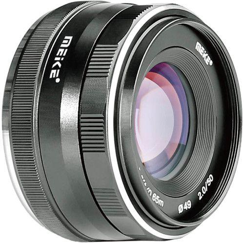 Lente Meike MK-50mm f / 2 para Micro Quatro Terços