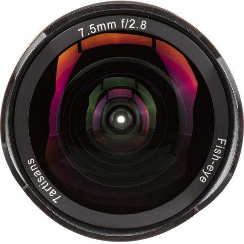 Lente olho-de-peixe 7artisans fotoelétrica de 7.5 mm f / 2,8 para micro quatro terços