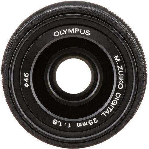Lente Olympus M.Zuiko 25MM F/1.8 - Negro