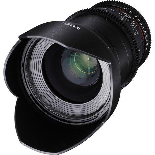 Lente Rokinon 35mm T1.5 Cine DS para Canon EF Mount