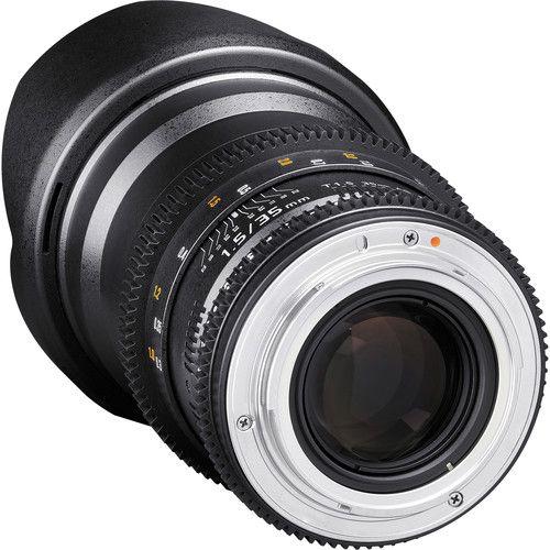 Lente Rokinon 35mm T1.5 Cine DS para Montagem Micro Quatro Terços