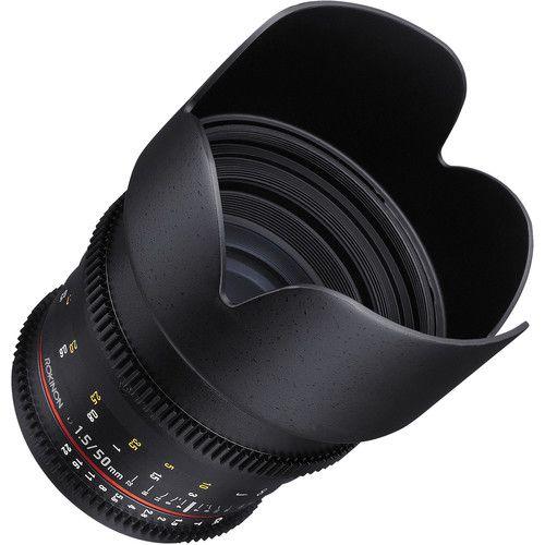 Lente Rokinon 50mm T1.5 AS UMC Cine DS para Micro Quatro Terços