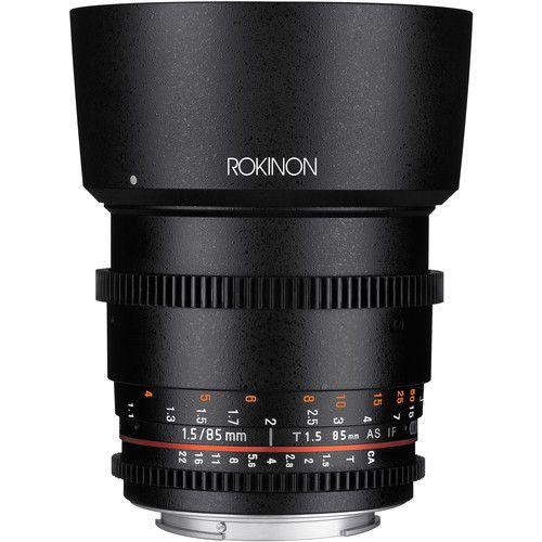 Lente Rokinon 85mm T1.5 Cine DS para Montagem Micro Quatro Terços