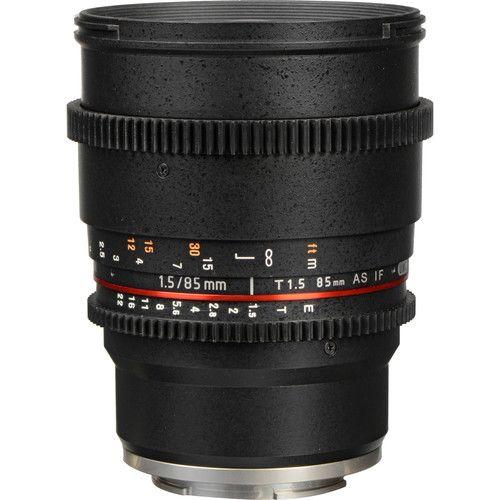 Lente Rokinon 85mm T1.5 Cine for Sony E