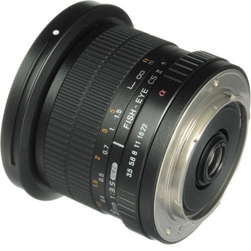 Lente Rokinon 8mm f / 3.5 UMC Fisheye CS II para Sony E- Mount
