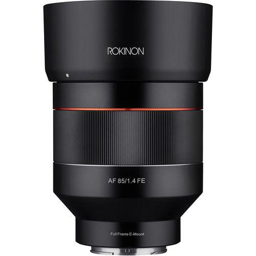 Lente Rokinon AF 85mm f / 1.4 para Sony E