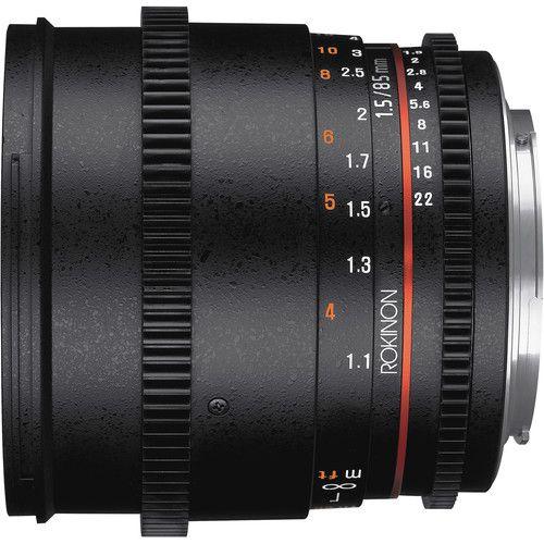 Lente Rokinon Canon 85MM T1.5 Cine DS