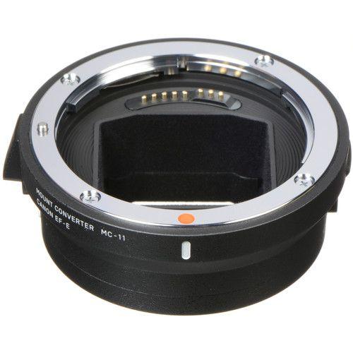 Lente Sigma 150-600mm f / 5-6.3 DG OS HSM para Canon EF e MC-11 Conversor de Montagem / Adaptador de Lente para Sony E Kit