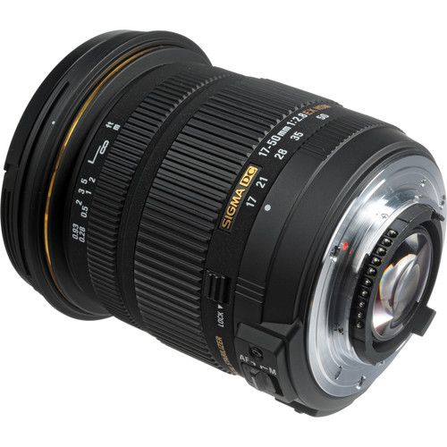 Lente Sigma DC 17-50MM F/2.8 Ex Os para Nikon