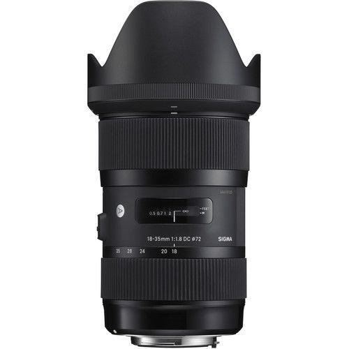 Lente Sigma 18-35mm f/1.8 DC HSM Art Lens for Sony  A-Mount