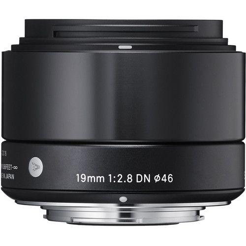 Lente Sigma 19mm f/2.8 DN Lens for Sony E-mount Cameras (Black)