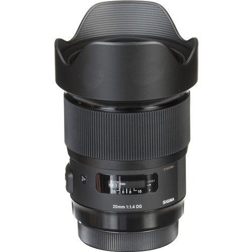 Lente Sigma Canon DG 20MM F/1.4 HSM Art
