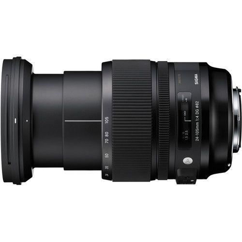 Lente Sigma Canon DG 24-105MM F4 Os HSM Art