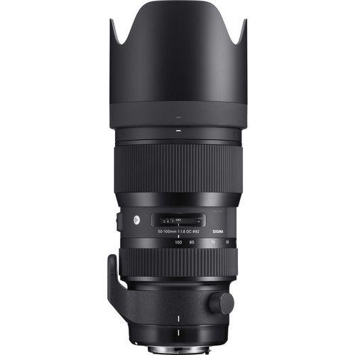 Lente Sigma DC 50-100MM F/1.8 Art p/Canon