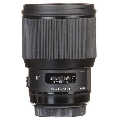 Lente Sigma DG 85MM F/1.4 HSM Art para Canon
