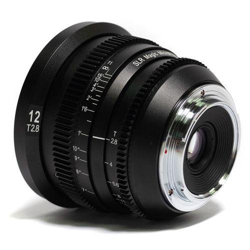 Lente SLR Magic MicroPrime Cine 12mm T2.8 (Montagem Micro Quatro Terços)
