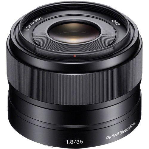 Lente Sony E 35mm f/1.8 OSS