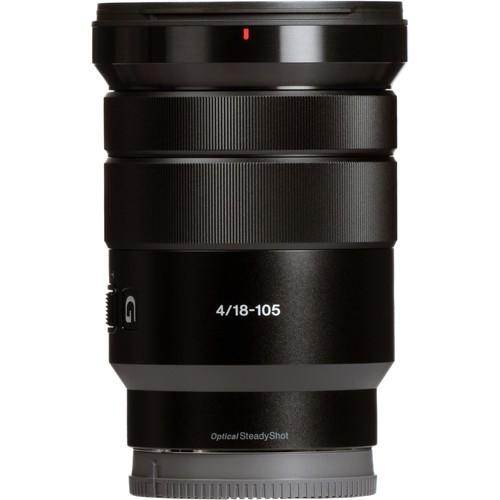 Lente Sony E PZ 18-105 mm f / 4 G OSS