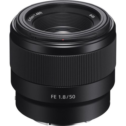 Lente Sony FE 50mm f/1.8