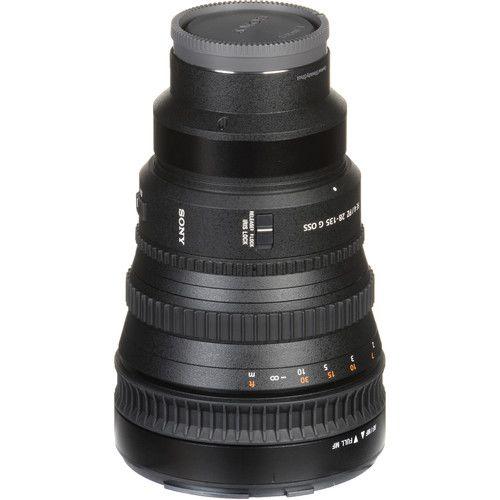 Lente Sony FE PZ 28-135mm F/4G OSS