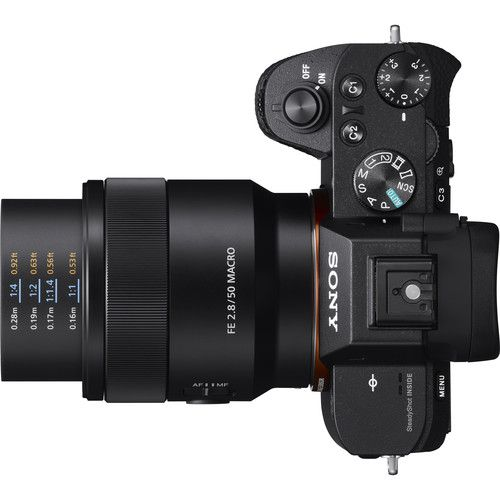 Lente Sony Sel 50MM F/2.8 Macro