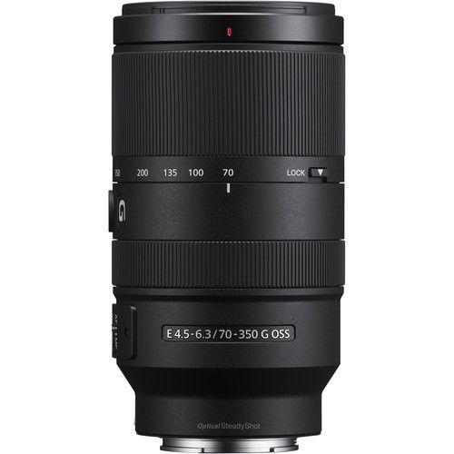 Lente Sony SEL 70-350mm F/4.5-6.3G OSS