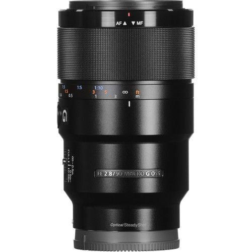 Lente Sony Sel Fe 90MM F/2.8 G Macro Oss