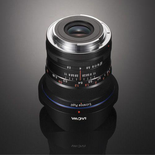 Lente Venus Optics Laowa 12mm f / 2.8 Zero-D para Canon EF (Preto)