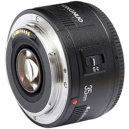 Lente Yong Nuo 35MM F/2.0 para Canon