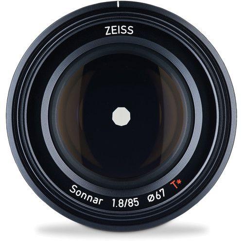Lente ZEISS Batis 85mm f/1.8 Lens for Sony E Mount