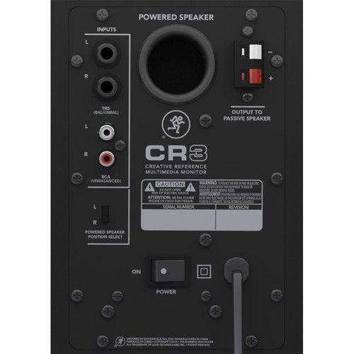 Mackie CR3 - Monitor de Referência Multimídia