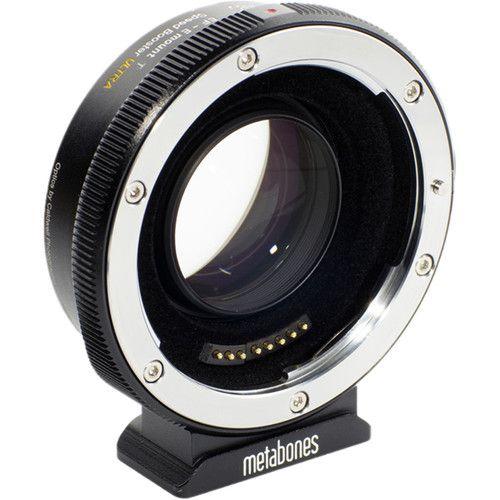 Metabones Adaptador Canon EF para Sony E-Mount T Adaptador de velocidade ULTRA II 0,71x (quinta geração)