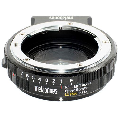 Metabones Speed Booster Ultra 0.71x Adapter para Nikon G Lens para Micro Four Third-Mount Camera