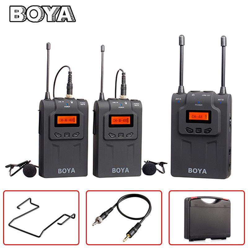 Microfone Boya BY-WM8