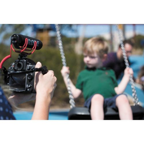 Microfone Rode VideoMic GO Camera-Mount Shotgun