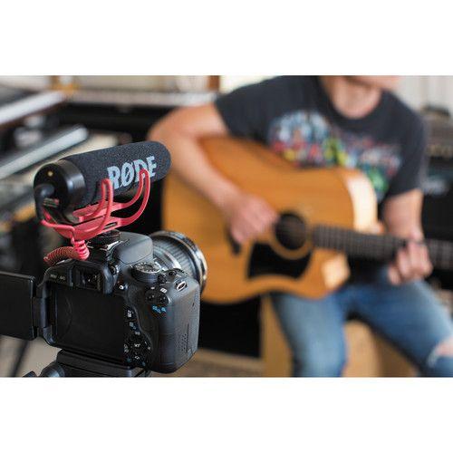 Microfone Rode VideoMic GO Camera-Mount Shotgun