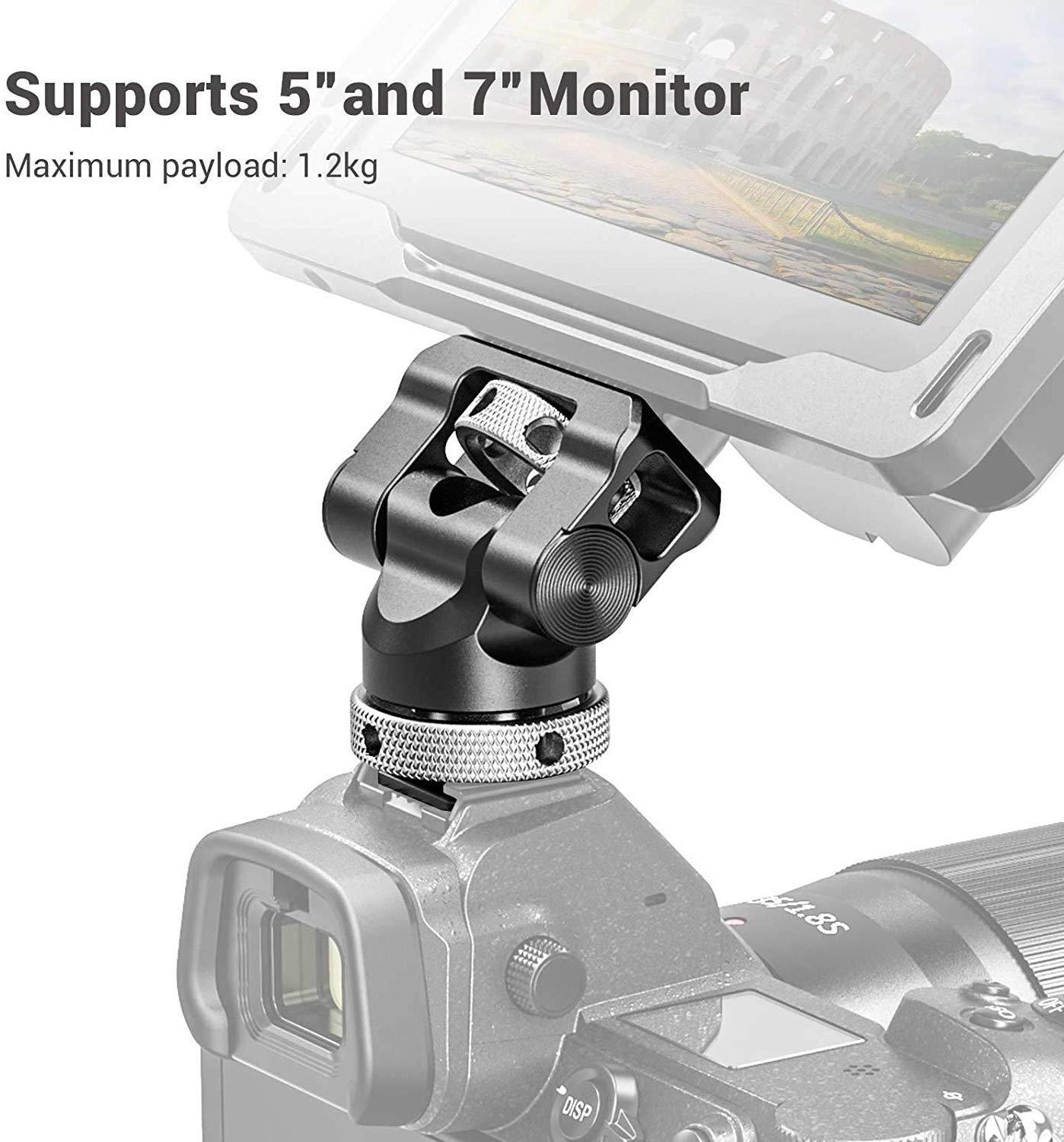 Monitor Mount with Cold Shoe BSE2346