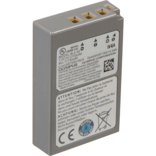 Olympus BLS-50 Lithium-Ion Battery (7.2V, 1175mAh)