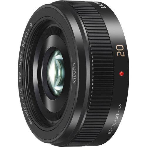 Panasonic Lumix G 20mm f / 1.7 II ASPH. Lente (preto)