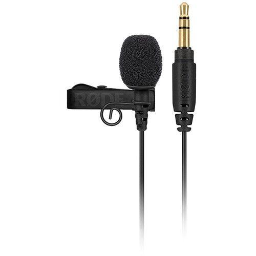 Rode Lavalier GO Microfone de lapela omnidirecional para sistemas sem fio GO