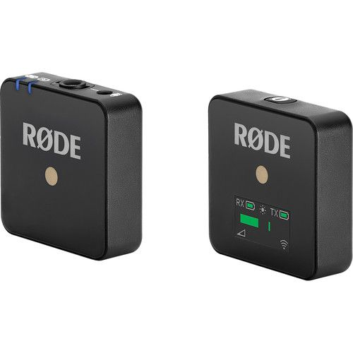 Rode Wireless GO Compact Wireless Microphone System (2.4 GHz)